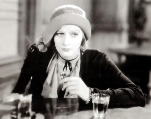 "Greta Garbo als Anna Christie, 1930: ""Give me a whiskey!"""