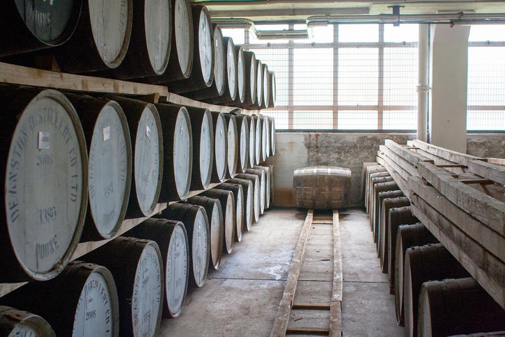 Die Destillerie Deanston. Copyright Michael Schmidt