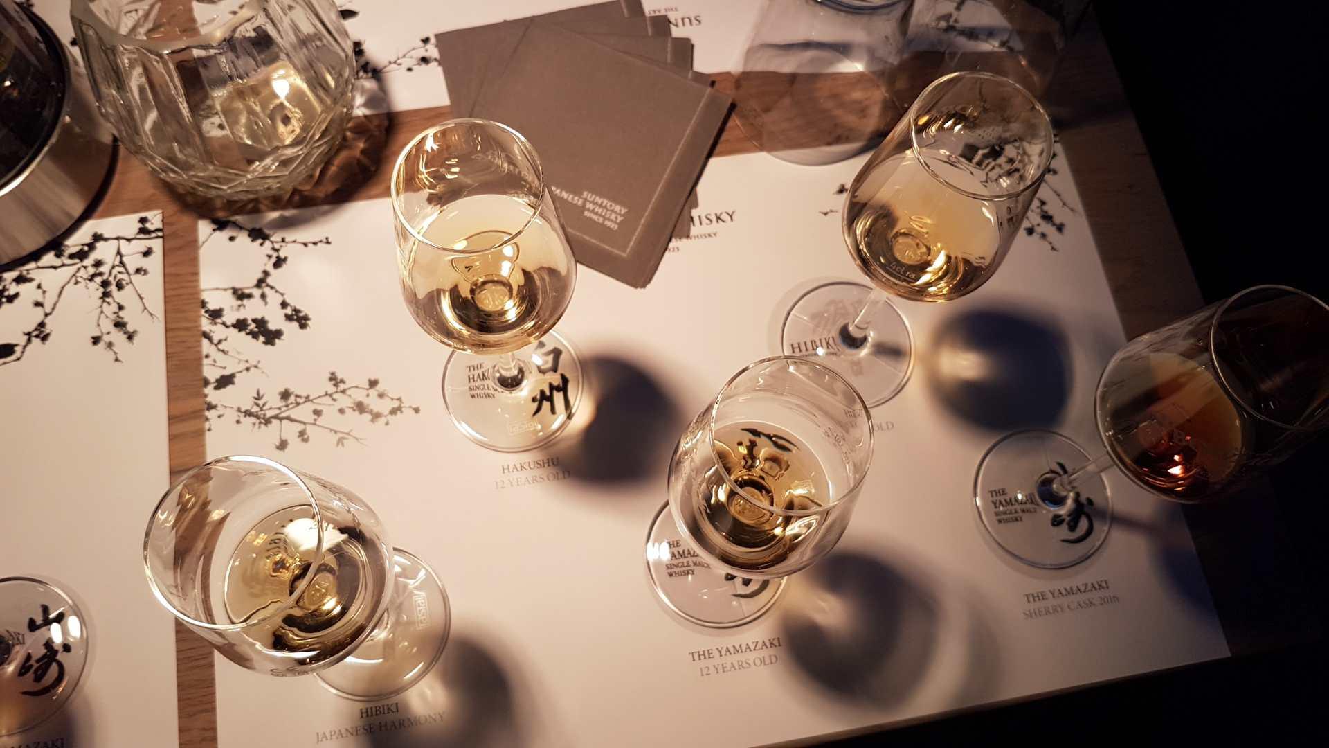Die Whiskys der Verkostung