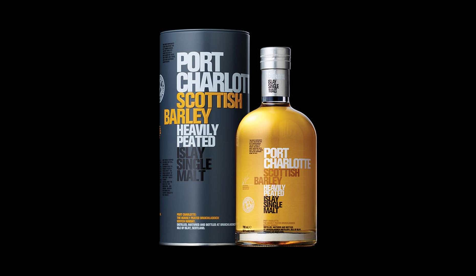 Bruichladdich port charlotte scottish barley jetzt mit - Port charlotte scottish barley ...
