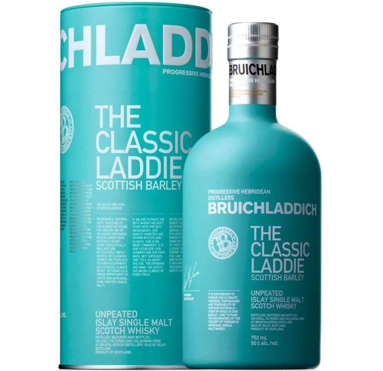 Dieses Bild hat ein leeres Alt-Attribut. Der Dateiname ist Medium-Bruichladdich-Bottle-Bruichladdich-The-Classic-Laddie-NAS-R2013-750-BlackBG-Floor.jpg