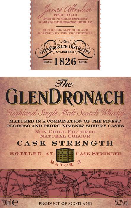 GlenDronachCaskStrengthBatch2Labelset