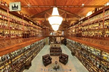 Eine Whisky-Sammlung. Nein, das ist kein Fake.